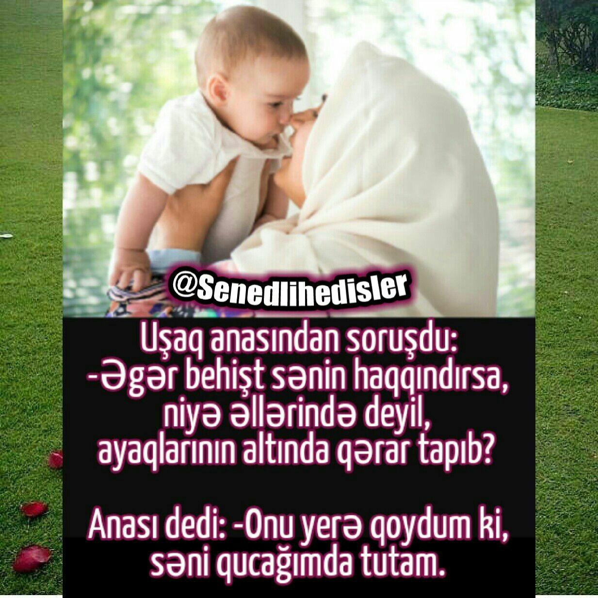 Ana Haqqinda Kəlamlar Images Səkillər
