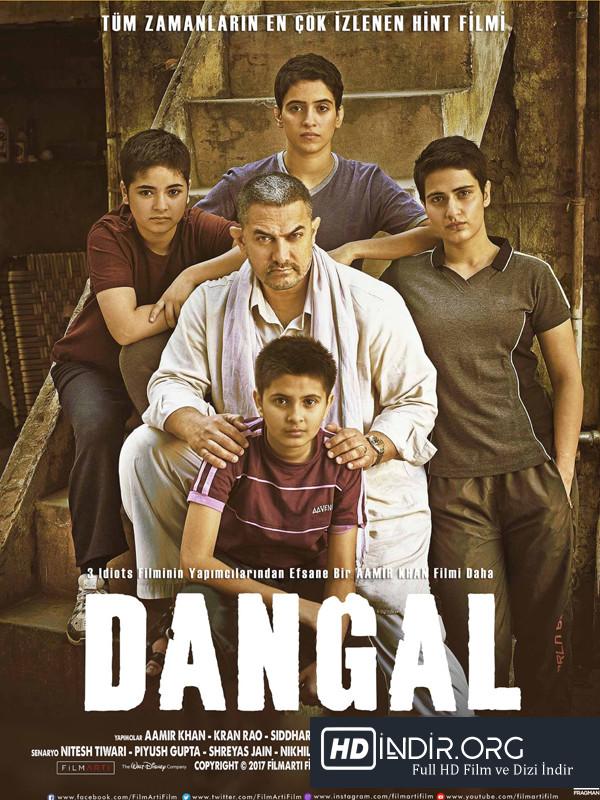 Dangal (2016) Türkçe Dublaj HD Film indir