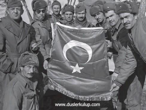 kore savaşında şehit olan türklerin listesi