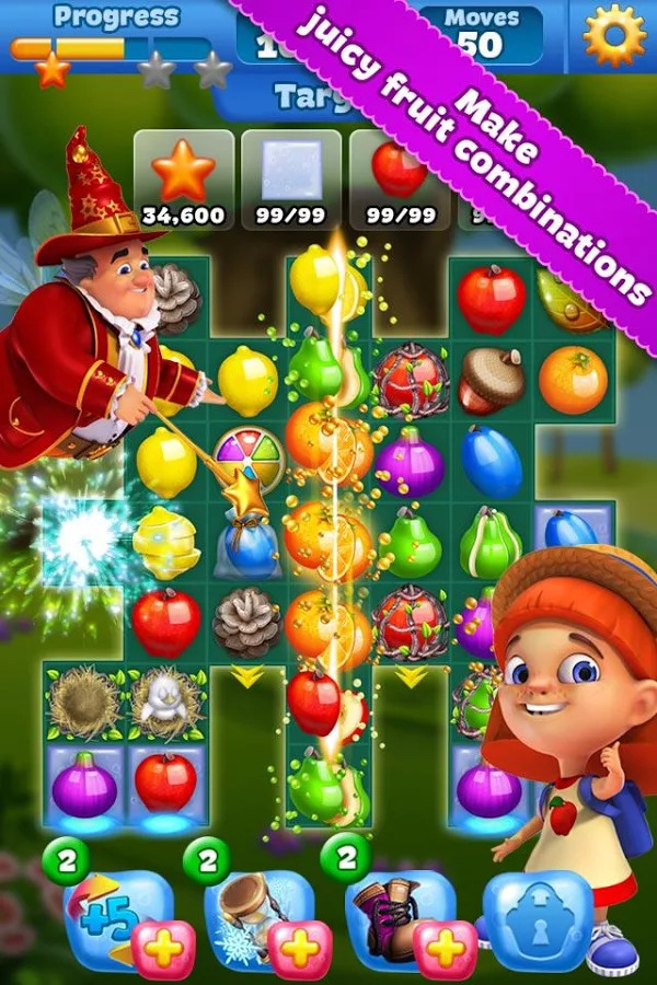 Fruit Land – match3 adventure Android APK