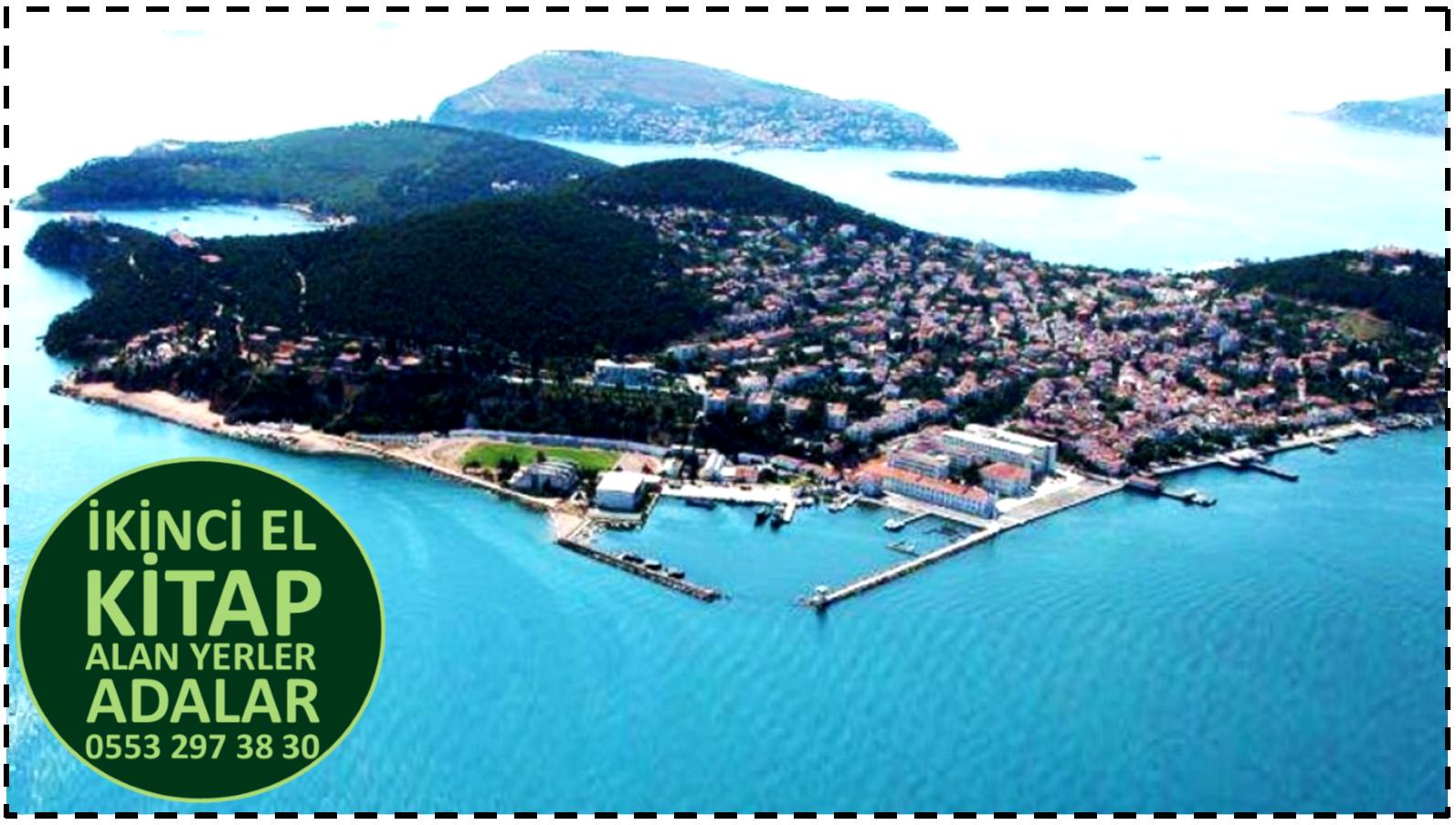 İkinci El Kitap Alan Yerler Adalar / İstanbul - 0553 297 38 30