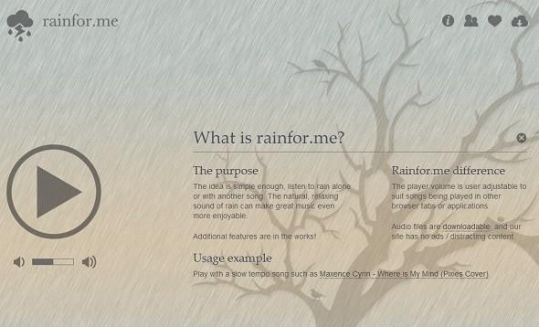 Rain For Me