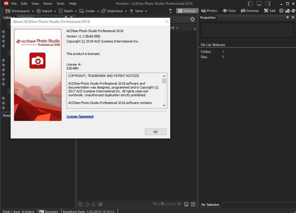 ACDSee Pro 2018 11.2 Build 888 x86.x64 | Katılımsız