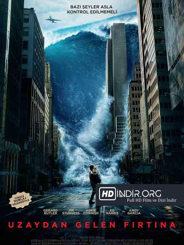 Uzaydan Gelen Fırtına - Geostrom (2017) Türkçe Dublaj HD İndir