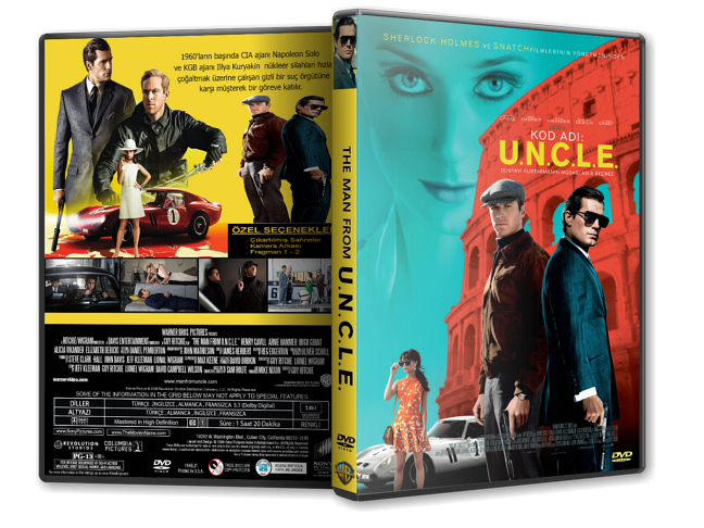Kod Adı U.N.C.L.E - The Man from U.N.C.L.E. | 2015 | DVD-9 | DuaL TR-EN - Tek Link