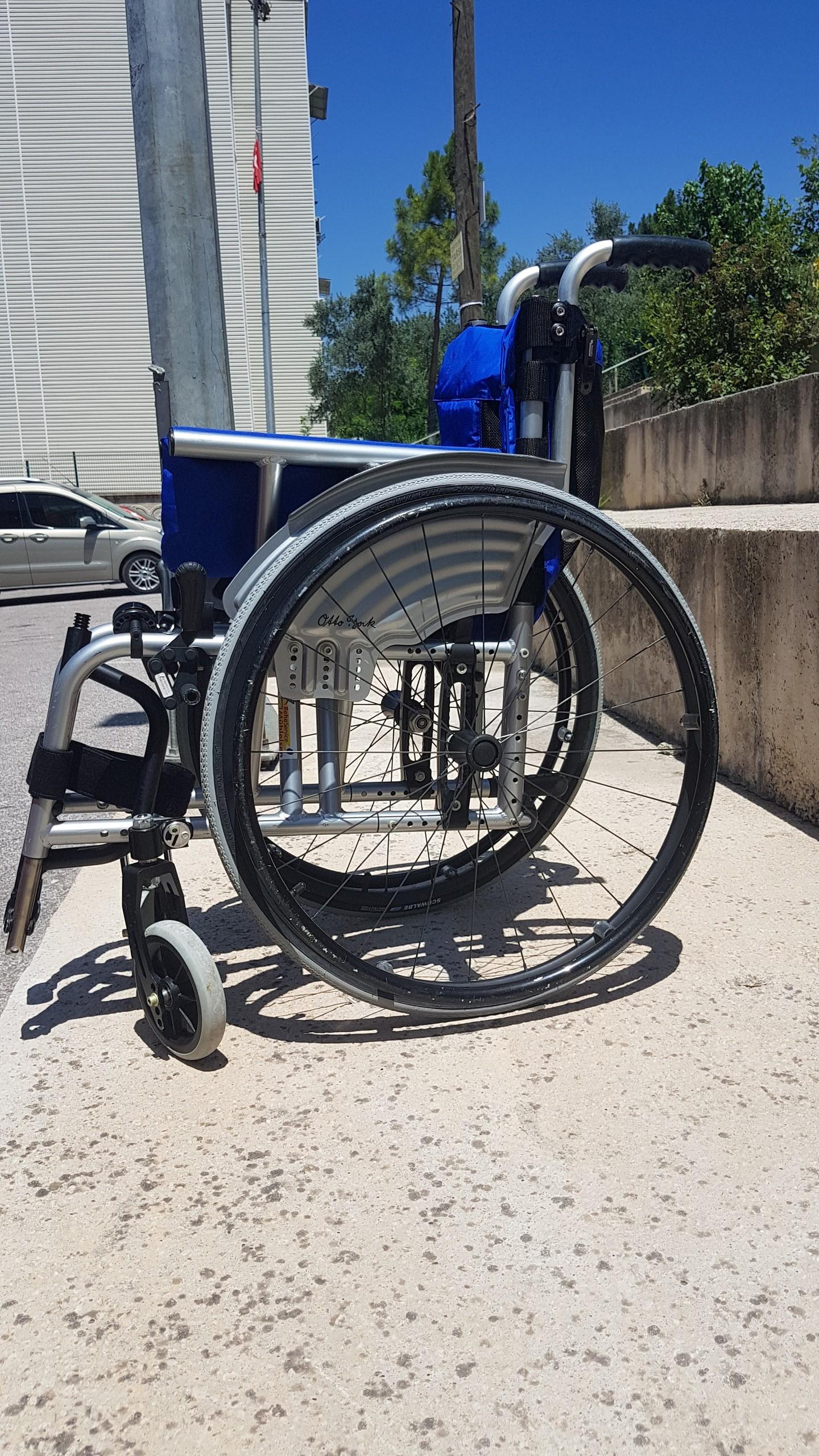 2O5Vbv - Ottobock Avantgarde Ti 8.9 aktif tekerlekli sandalye satılıktır