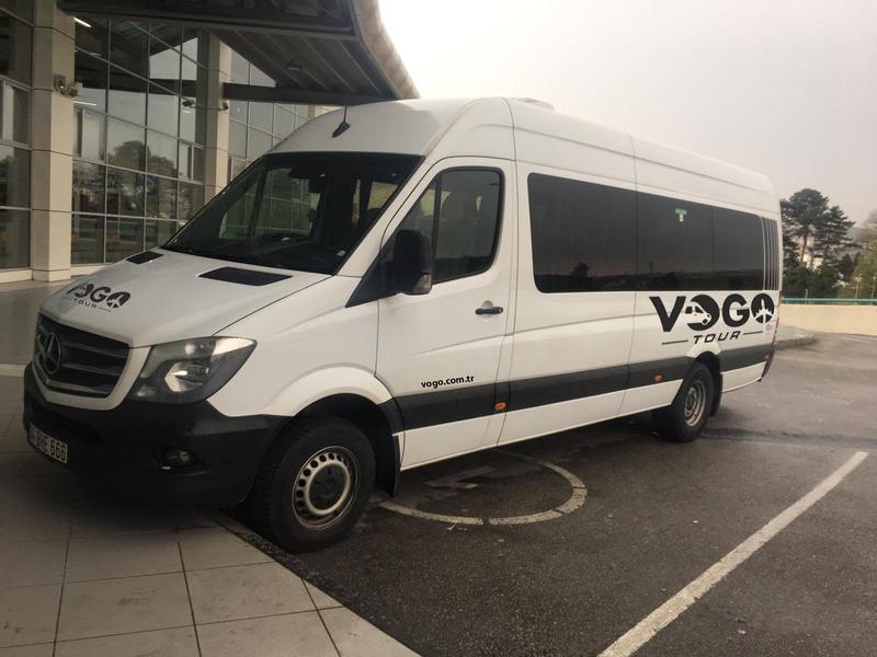 Sakarya Sabiha Gökçen Servis Hizmetleri - Vogo Tour 2OP950