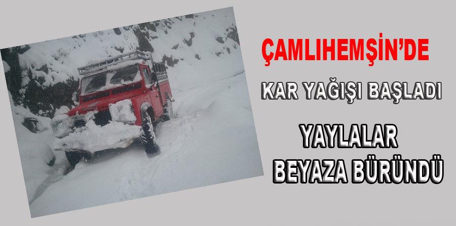 �aml�hem�in'de Kar Ya���� Etkili Oluyor