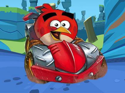 Angry Birds Arabası Oyunu