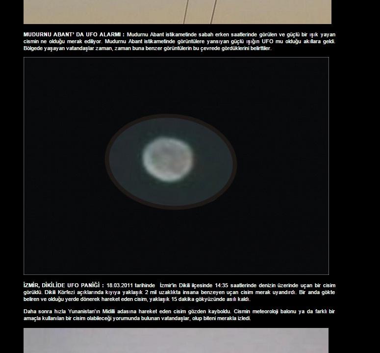 Gerçekten UFO varmı?