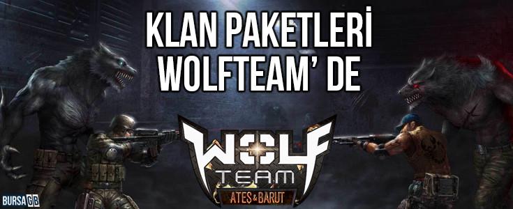 Wolfteam Klan paketleri Ayrıcalıklı fiyatlar ile BursaGB'de