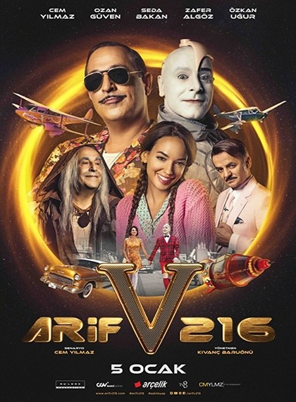 Arif v 216 - 2018 - 720p Yerli Film indir