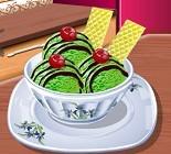 Yeşil Çaylı Dondurma Oyunu