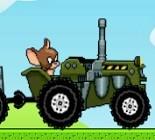 Tom ve Jerry Traktörde Oyunu