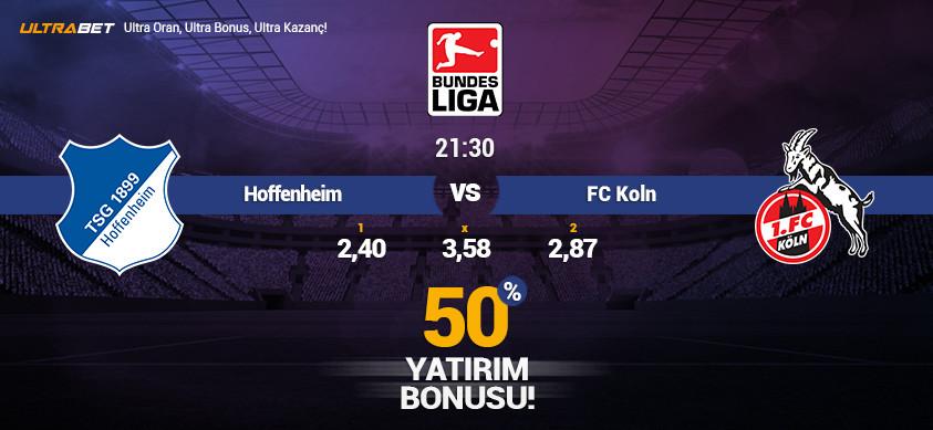 Hoffenheim vs FC Köln - Canlı Maç İzle