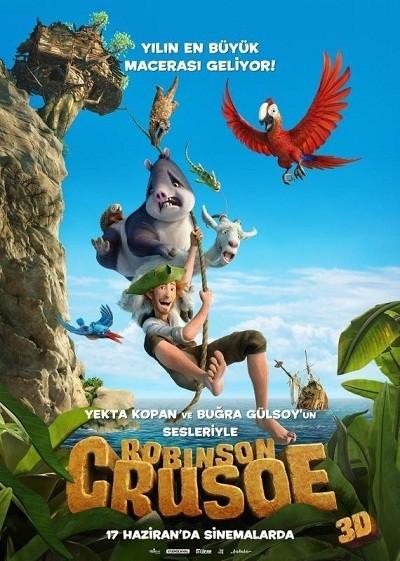 Robinson Crusoe | 2016 | BRRip XviD | Türkçe Dublaj