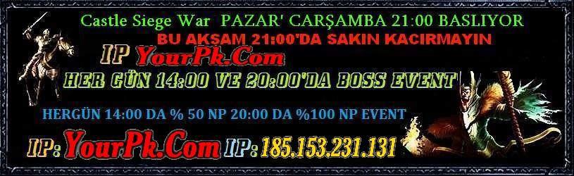 [83/1 eşit pk server ] [ bu aksam csw 21:00'da ] | v.1299 uzun ömürlü pk server|destek ıtem yok!|