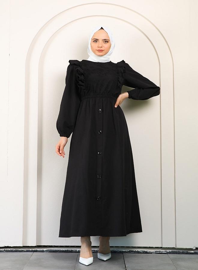 tesettür elbise - 2
