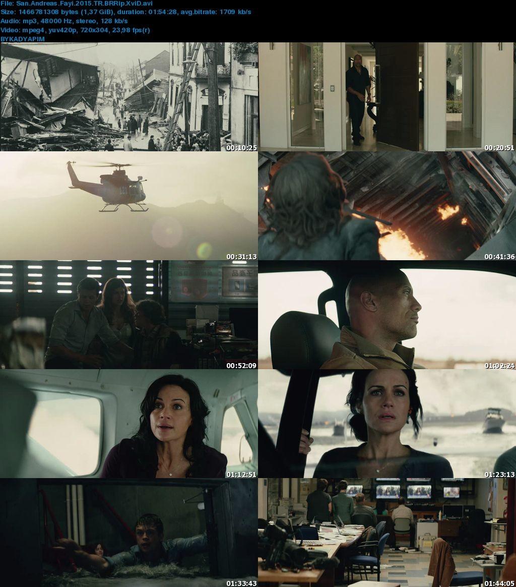San Andreas Fayı 2015 Filmi