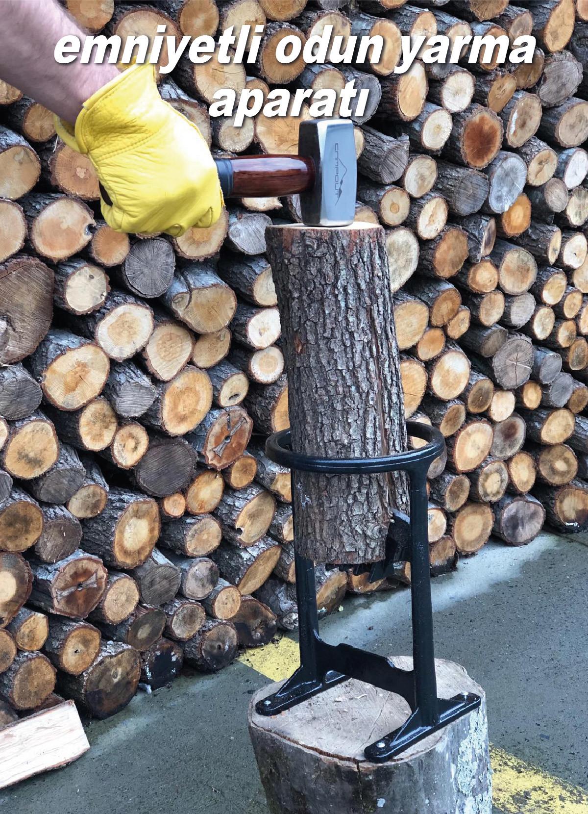 campout odun kırma ve yarma aleti