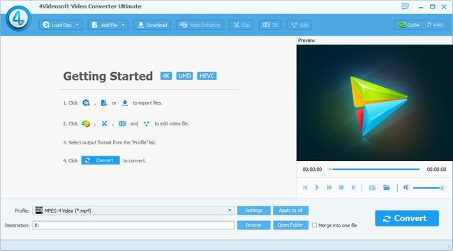 4Videosoft Video Converter Ultimate 6.1.6 - Portable