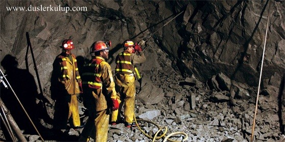 madencilik sektörünün önemli kelimeleri ve anlamları