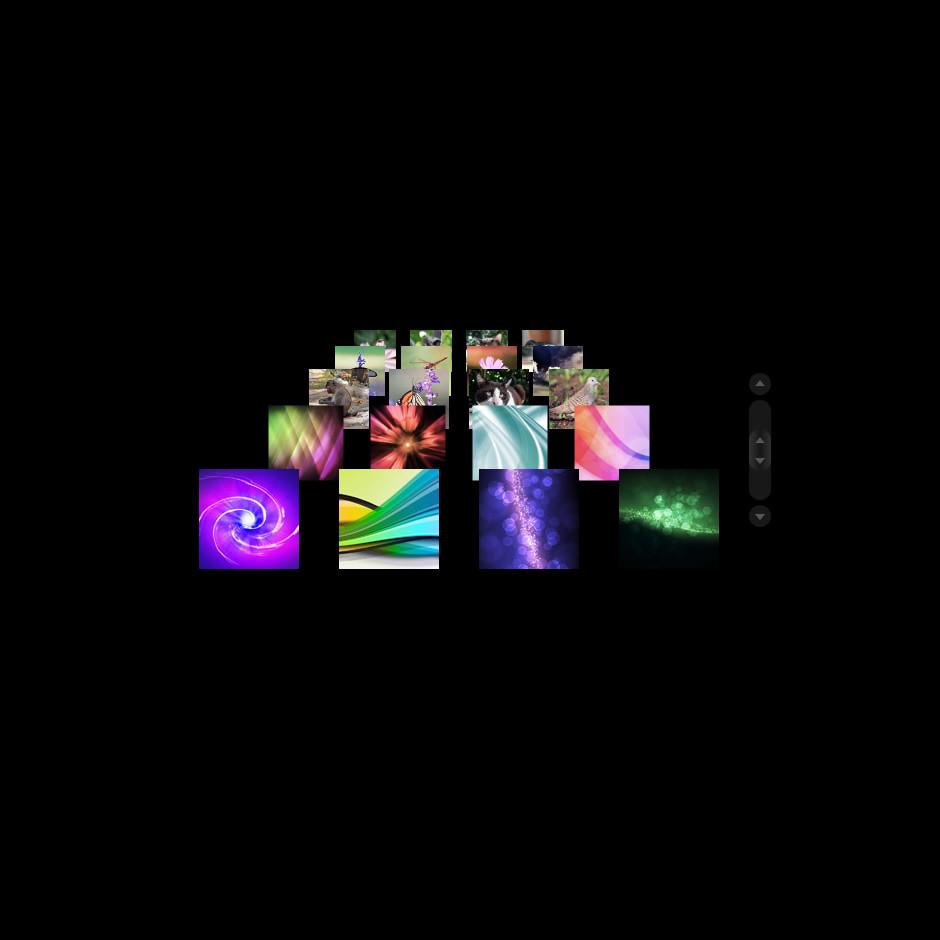 3D Zoom Galeri Flaş Şablonu
