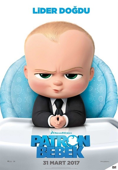 Patron Bebek - The Boss Baby 2017 (3D-BluRay 720p - 1080p) DuaL (TR-EN)