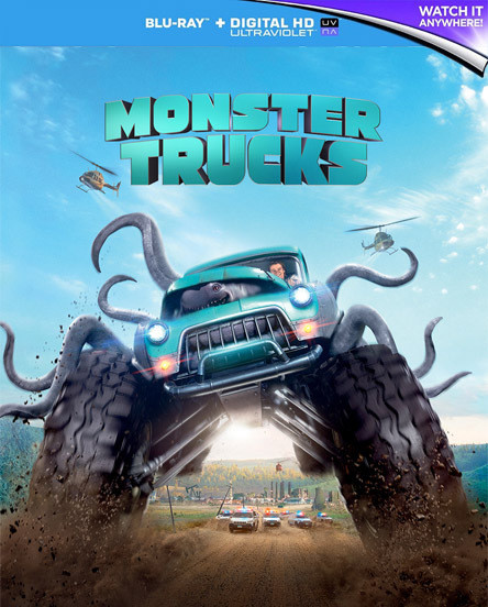 Canavar Kamyonlar - Monster Trucks - 2016 -1080p - DUAL TR/ENG