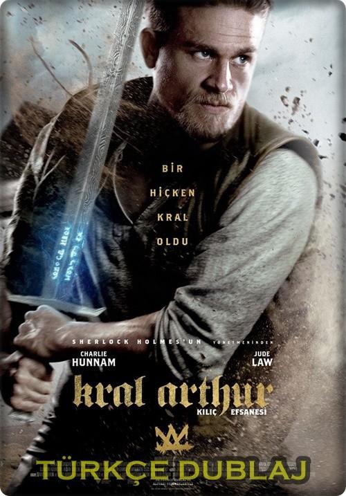 Kral Arthur: Kılıç Efsanesi 2017 (Türkçe Dublaj) WEB-DL XviD