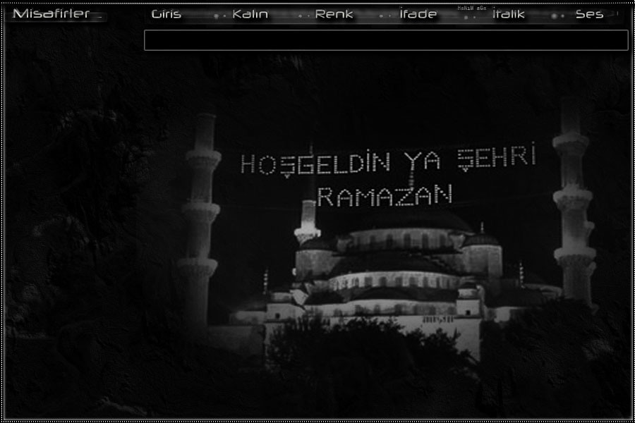 Flatcast Fcp Dini Tema - (Ramazan Özel) 1, Hoşgeldin Ya Şehri Ramazan /Hanımağa