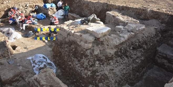 Yeşil Müze kazısında Bizans temelleri