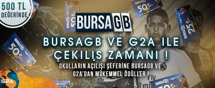 BursaGB ve G2A ile Çekiliş Zamanı !