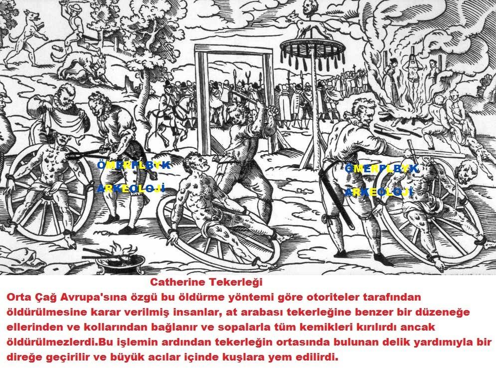 Tarihdeki korkunç idamlar Catherine Tekerleği