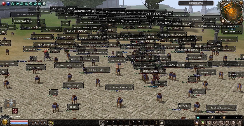 1-120 Farma Dayalı Emek  Server +2000 Online Oyuncu