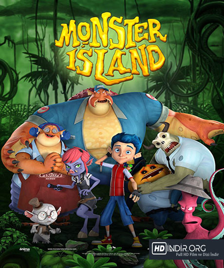 Canavar Adası - Monster Island (2017) Türkçe Dublaj HD Film indir