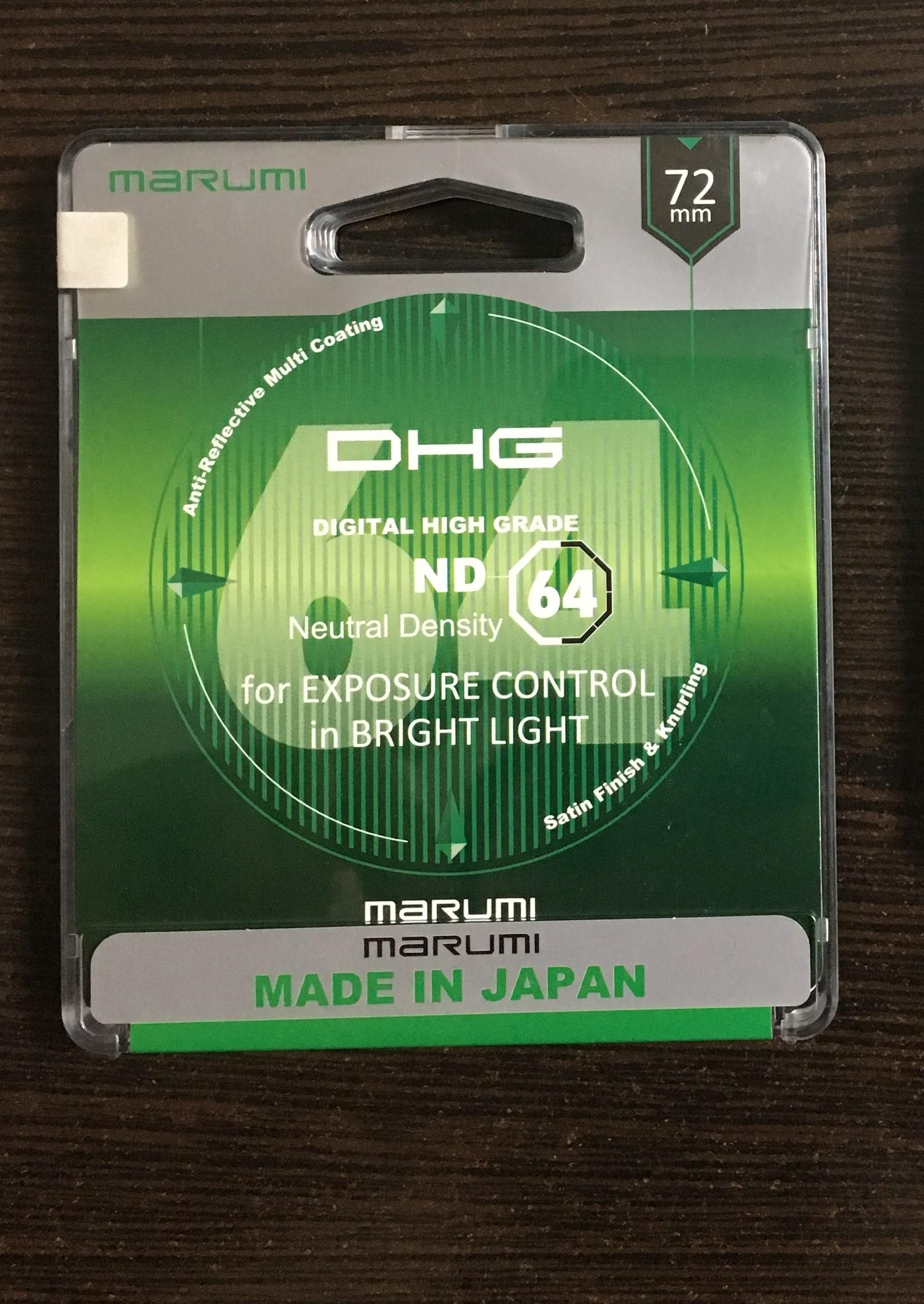 MARUMI 72mm / 52mm ND filtreler