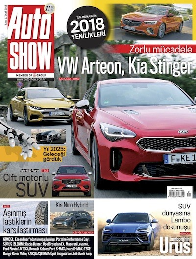 Auto Show Ocak 2018