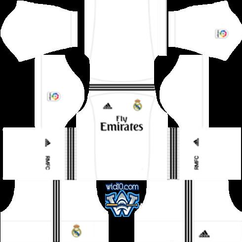 b61b23bfc22 Real Madrid - 2018 2019 Dream League Soccer DLS FTS Kits Forma ve ...