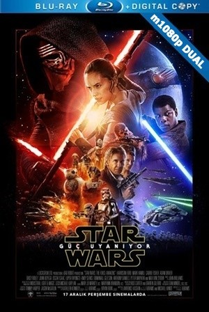 Star Wars: Bölüm VII - Güç Uyanıyor - Star Wars: The Force Awakens | 2015 | m1080p Mkv | DuaL TR-EN - Teklink indir