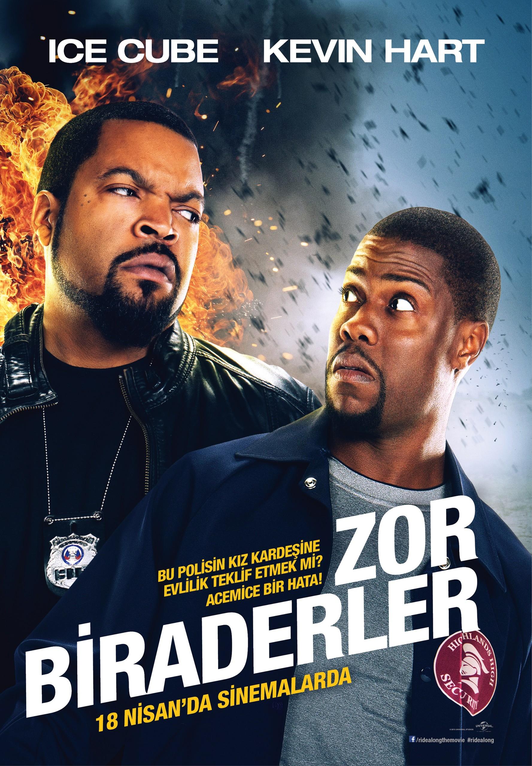 Zor Biraderler - Ride Along (2014) - hd türkçe dublaj film indir