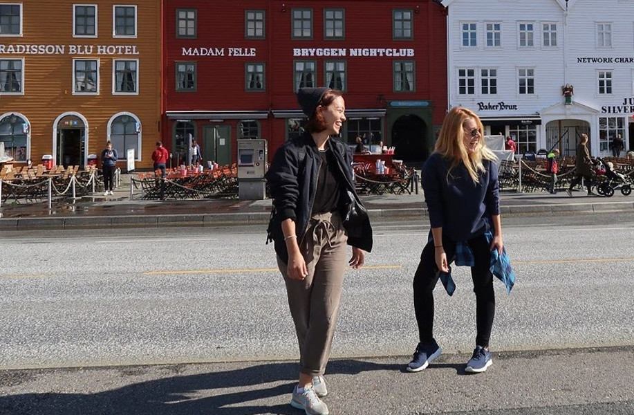 avrupa rüyası norveç bergen hansa rıhtımı
