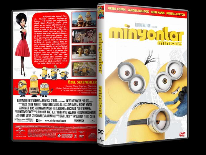 Minyonlar – Minions 2015 DVD-9 DuaL TR-EN – Tek Link