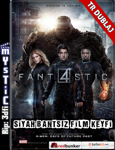 Fantastic Four – Fantastik Dörtlü (2015) (ANAMORPHIC Siyah Bantsız BluRay m1080p) Türkçe Dublajlı hd film indir