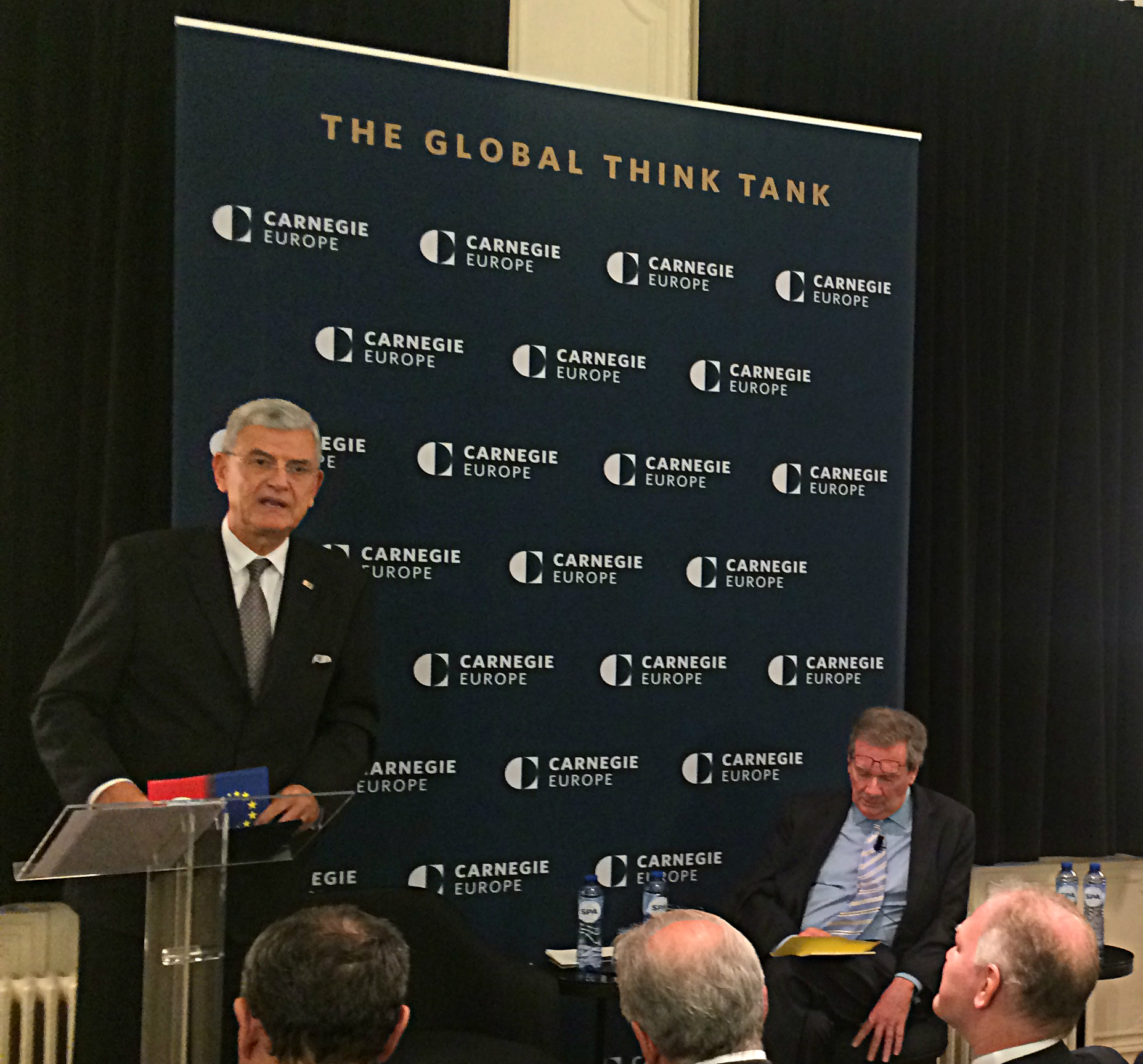 Volkan Bozkir is very passionate about Turkey's European path.