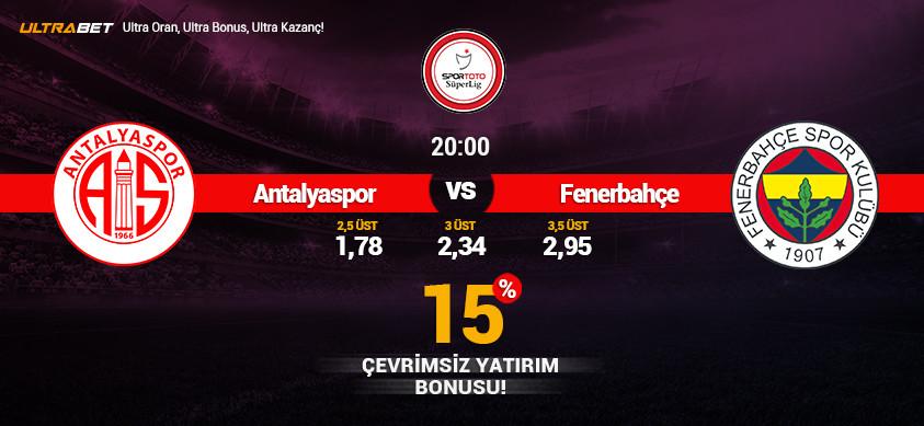 Antalyaspor- Fenerbahçe Canlı Maç İzle