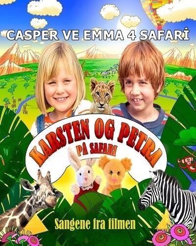 Casper ve Emma 4 Safari – Karsten og Petra på safari 2015 HDRip xvid Türkçe Dublaj – Tek Link