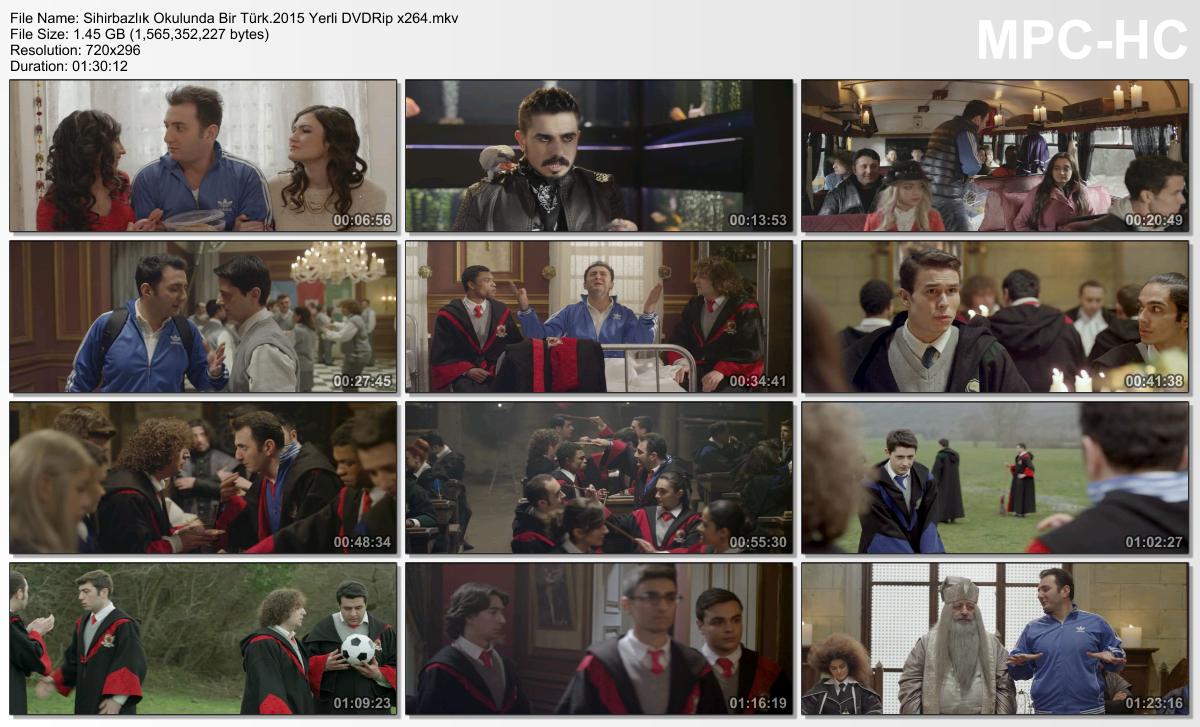 Sihirbazlık Okulunda Bir Türk 2015 Yerli Film DVDRip x264