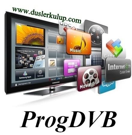 ProgDVB 7.19.7 32/64 Bit Tv İzleme Programını Türkçe İndir