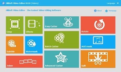 GiliSoft Video Editor 8.1.0 Multilingual | Full İndir